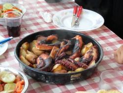 Блюдо из осьминога